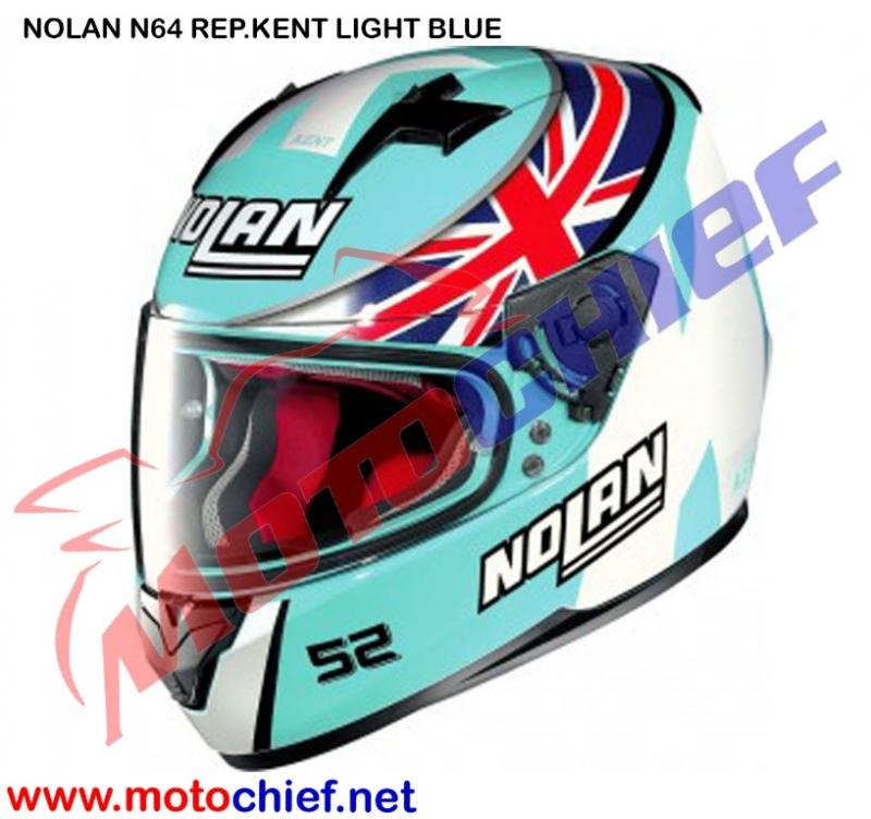 Nolan - N64 Kent Replica Light Blue