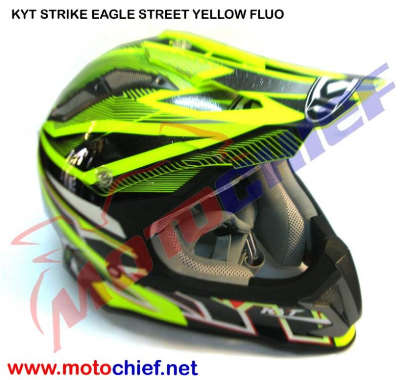 Kyt - Strike Eagle Street Yellow Fluo