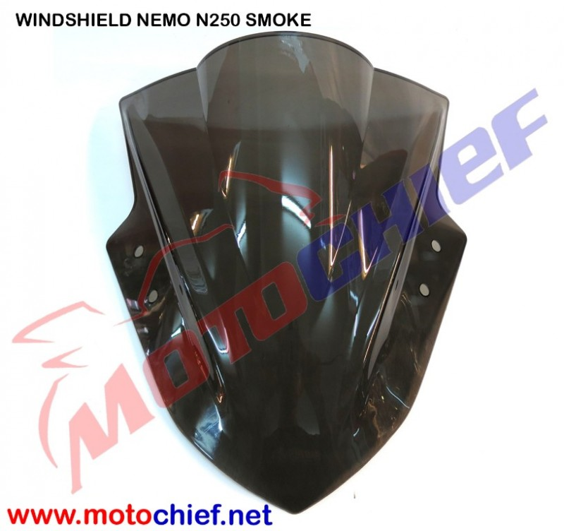 Nemo - Windshield Smoke Ninja 250Fi