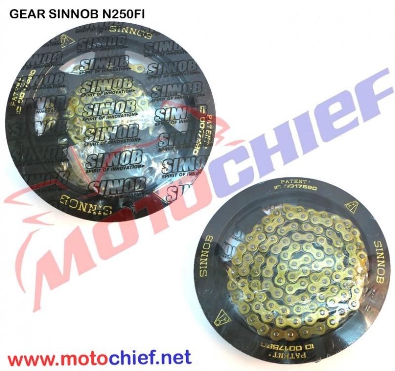 Gear Sinnob - Set Ninja 250Fi / Z250