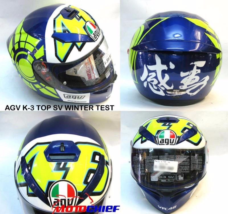 Agv - K3 Sv Winter Test