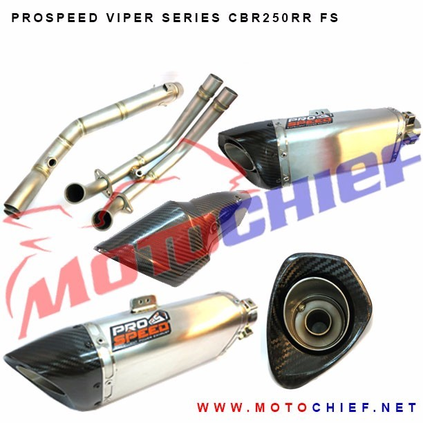 Prospeed - Knalpot Racing CBR250 RR Viper Series