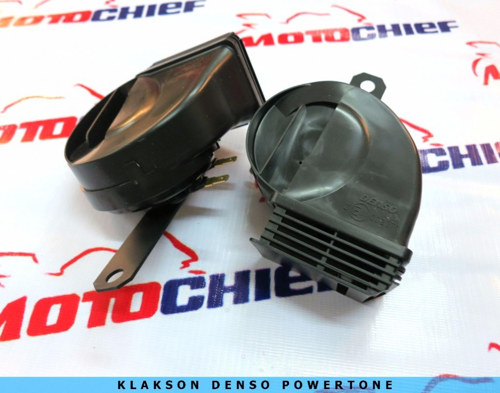 Denso - Klakson Power Tone Keong Waterproof