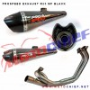 Prospeed - Knalpot Racing R25 Mf Black