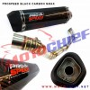 Prospeed - Knalpot Racing N-Max Black Carbon