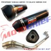 Prospeed - Knalpot Racing Aerox 155 Black CNC