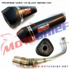 Prospeed - Knalpot Racing Vario 150 Black CNC