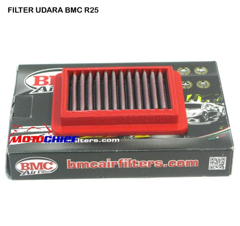 FILTER UDARA BMC YAMAHA R 25