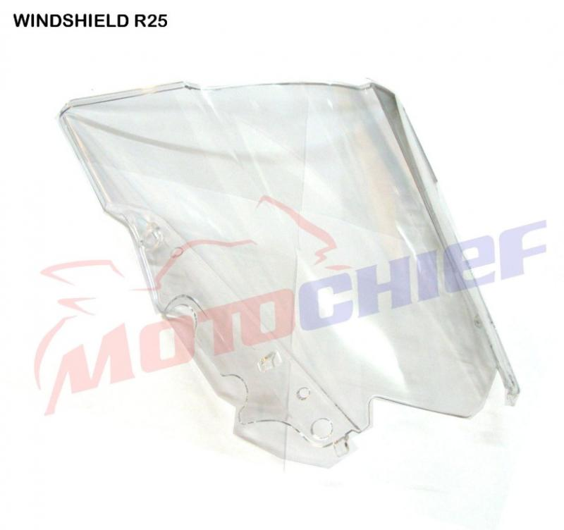 WINDSHIELD YAMAHA R 25 CLEAR