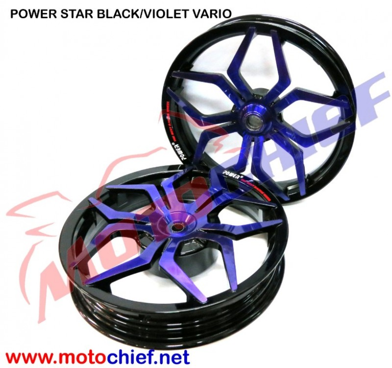 POWER - VELG Star Vario Bk/Violet
