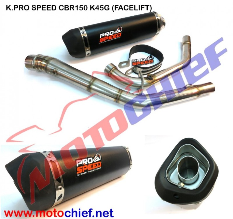 Knalpot Prospeed - Black Series CBR 150 K45G (Facelift)