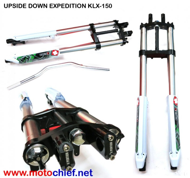 Expedition - Upside down KLX 150